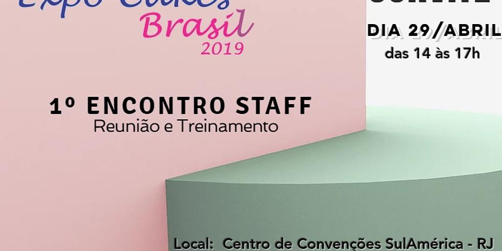 1º ENCONTRO STAFF EXPO CAKES BRASIL