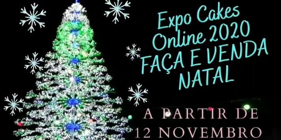 EXPO CAKES ONLINE 2020 - FAÇA E VENDA NATAL