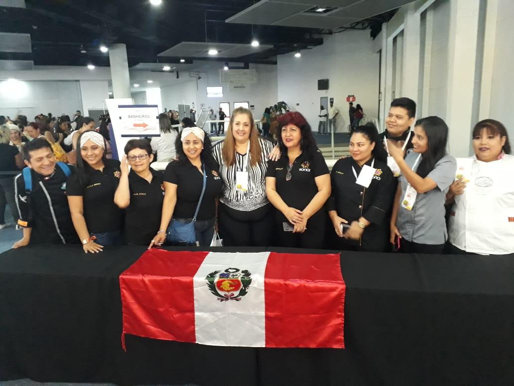 Delegação do Peru - SONAR