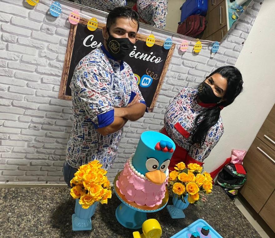 Nandha e Diego Lima