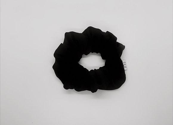Black Swim Knit Scrunchie
