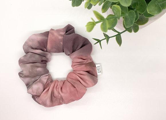 Dark Pink & Grey Mixed Tye Dye