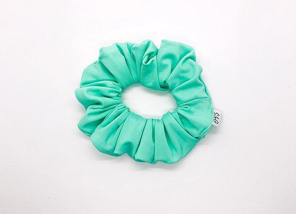 Mint Swim Knit Scrunchie