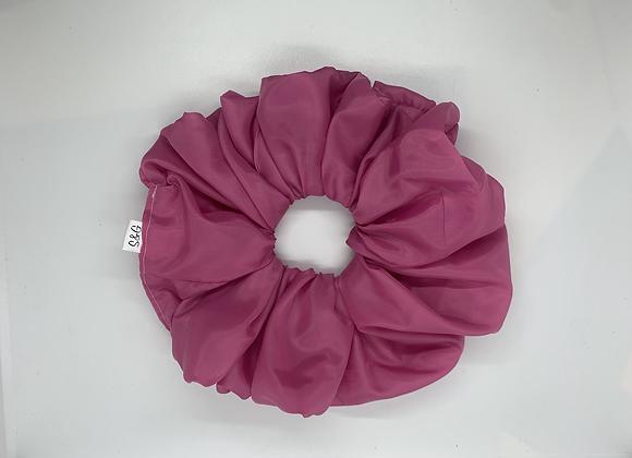 Oversized Pink Scrunchie