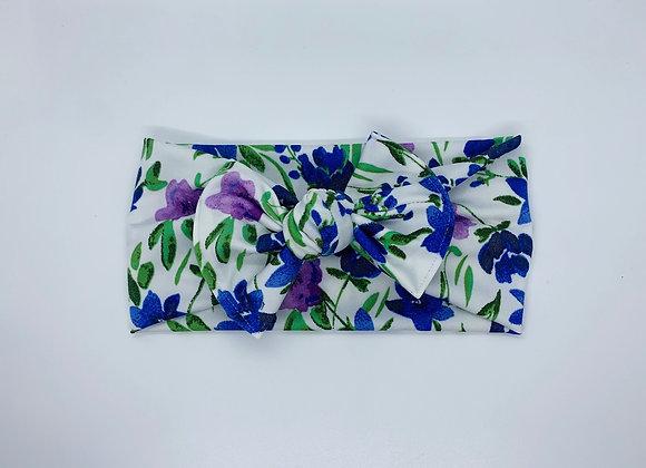Purple & Blue Floral