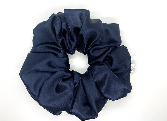 Navy Blue Satin