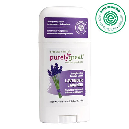 Purely Great Deodorant - Lavender
