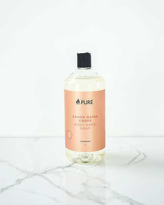 BULK Je Suis Pure Hand & Body Wash: Tangerine