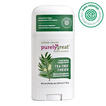 Purely Great Deodorant -Tea Tree