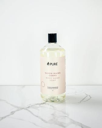 BULK Je Suis Pure Hand & Body Wash: Almond Blossom