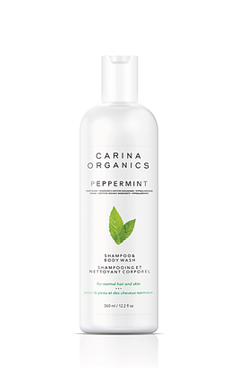 BULK Carina Organics: Peppermint Shampoo & Conditioner