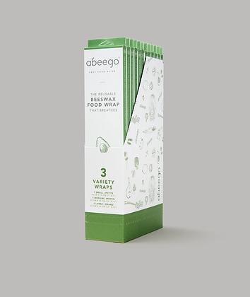 Abeego: Reusable Beeswax Food Wrap