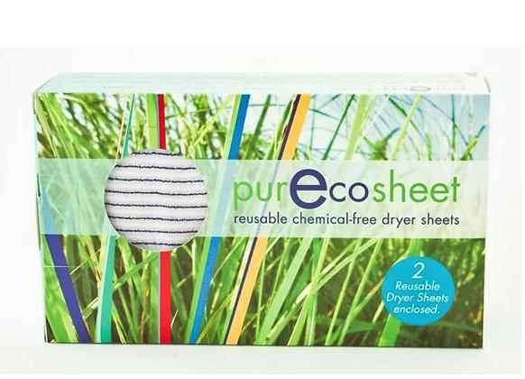 PurEcosheet Reusable Dryer Sheet