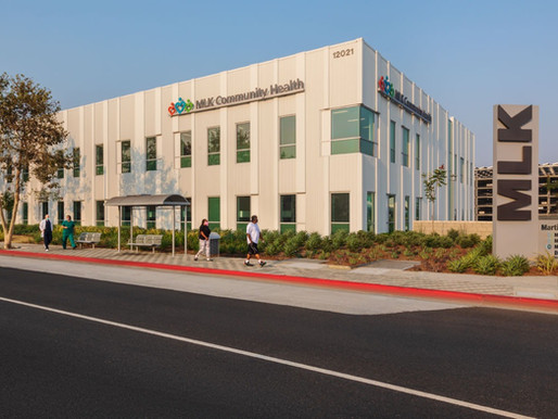 The MLK Community Hospital Project Awarded Silver by the Los Angeles Business Journal