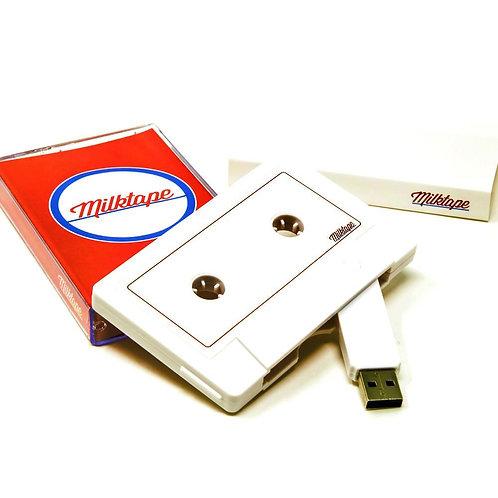 Mixtape USB unidade flash de fita cassete da Milktape (128 MB ou 16 GB)
