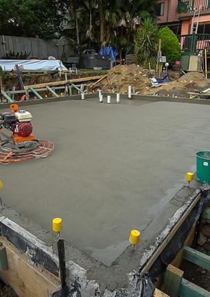 Putney Dwelling -  - Concrete Pour -24.j