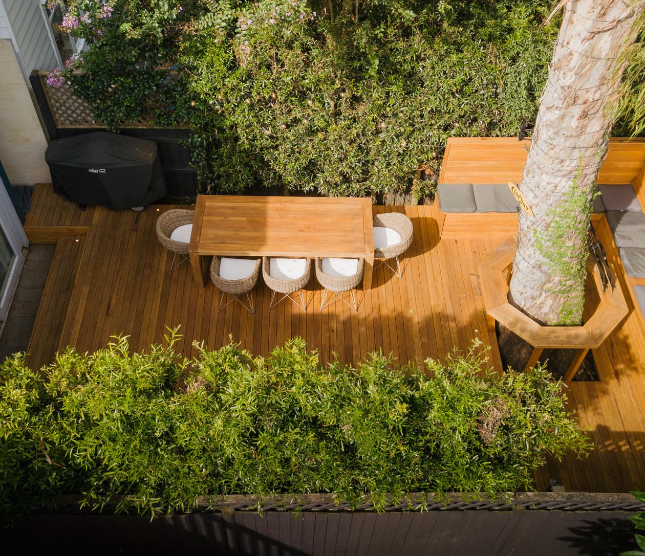 Birchgrove - Finished Deck