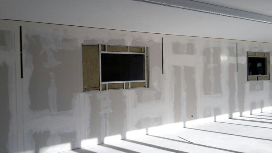 Bürotrennwand mit Glasausführung 2