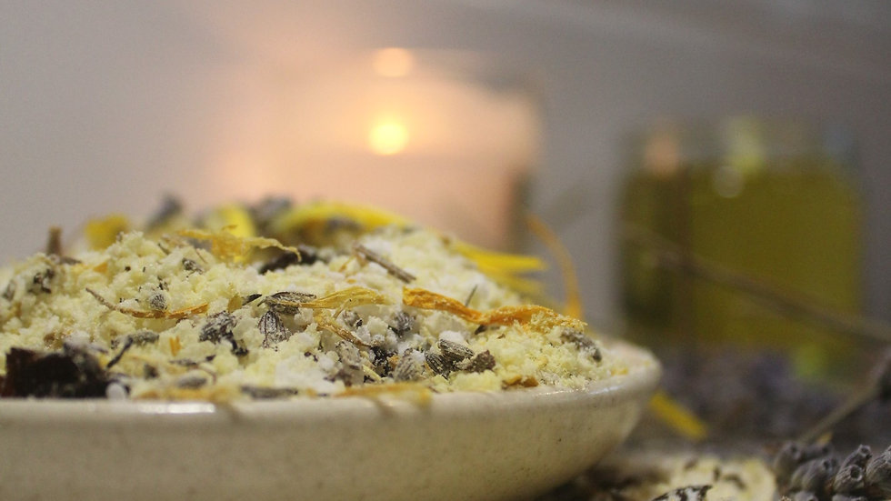 Luxurious Lavender Herbal Bath Salts