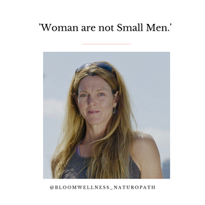 Woman are Not Small Men