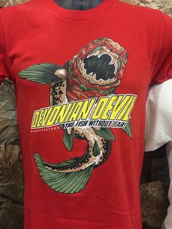 Devonian Devil shirt design