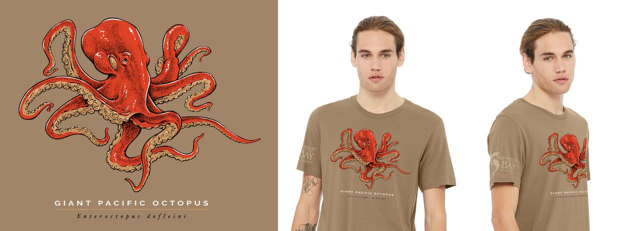 Aquarium of the Bay - Giant Pacific Octopus