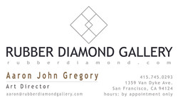 Rubber Diamond business card