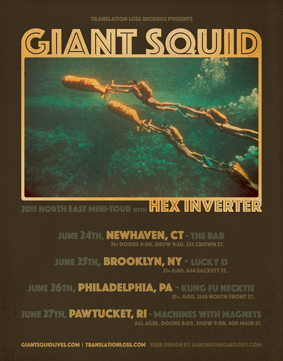 GIANT SQUID - North East 2015 Tour