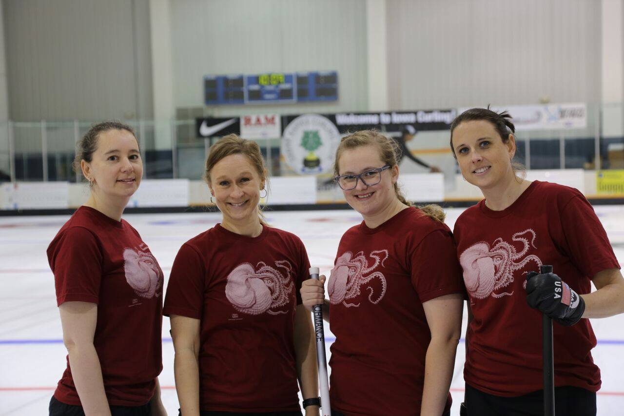 Womens Arena Curling Champions!!
