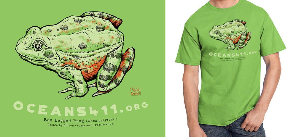 Oceans411.org - Red Legged Frog