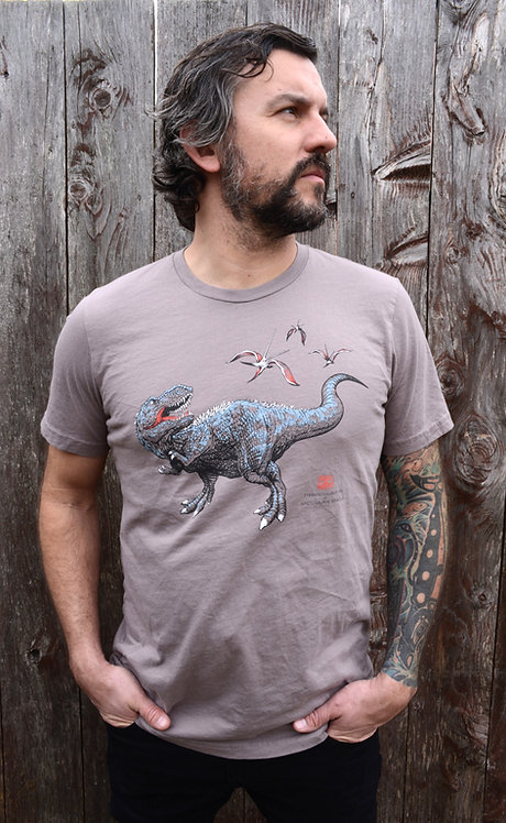 T-Rex vs Nyctosaurus gracilis