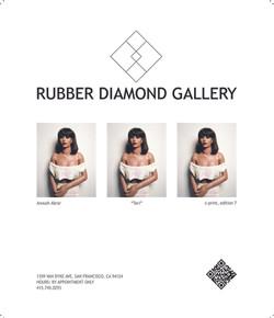 Rubber Diamond Juxtapoz Ad
