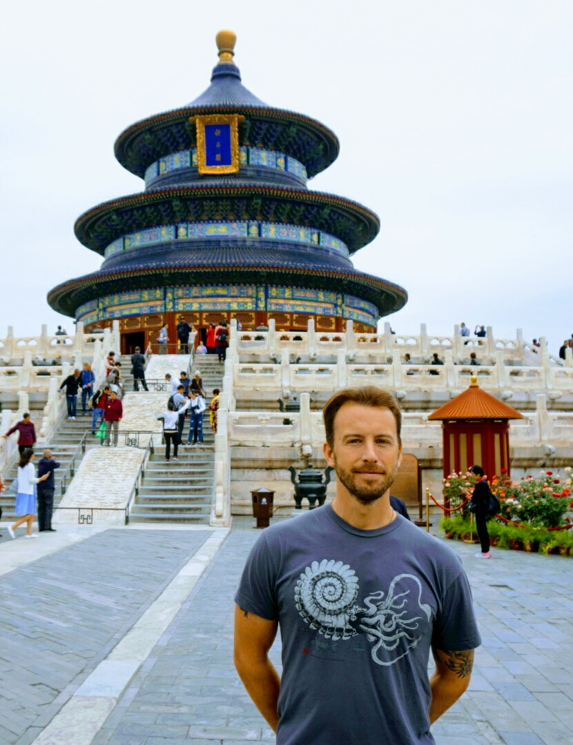 Mike Grassman in China