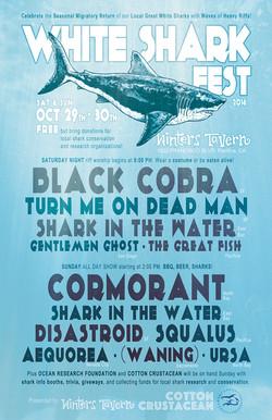 White Shark Fest Poster