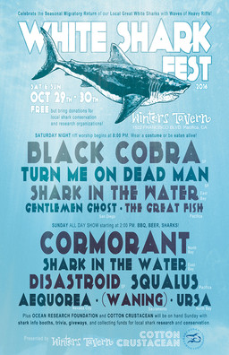 SQUALUS (ex-Giant Squid guys) presents WHITE SHARK FEST