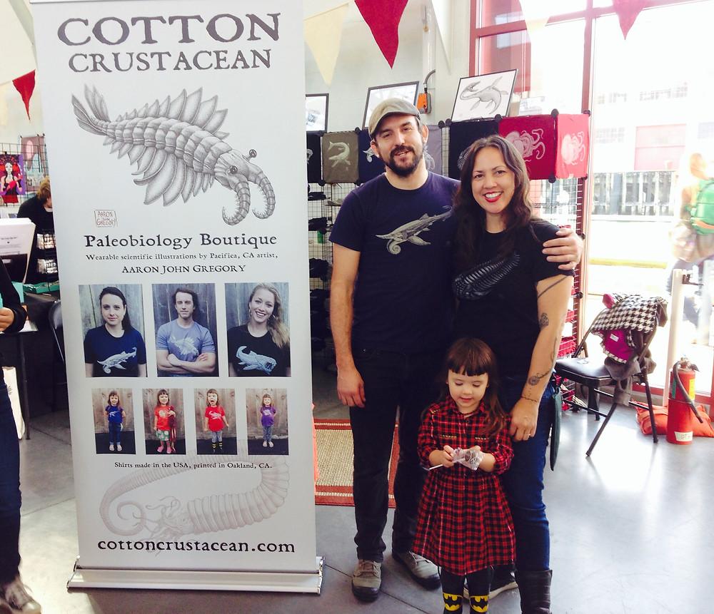 CottonCrustacean_SFBazaar_familyPic.JPG