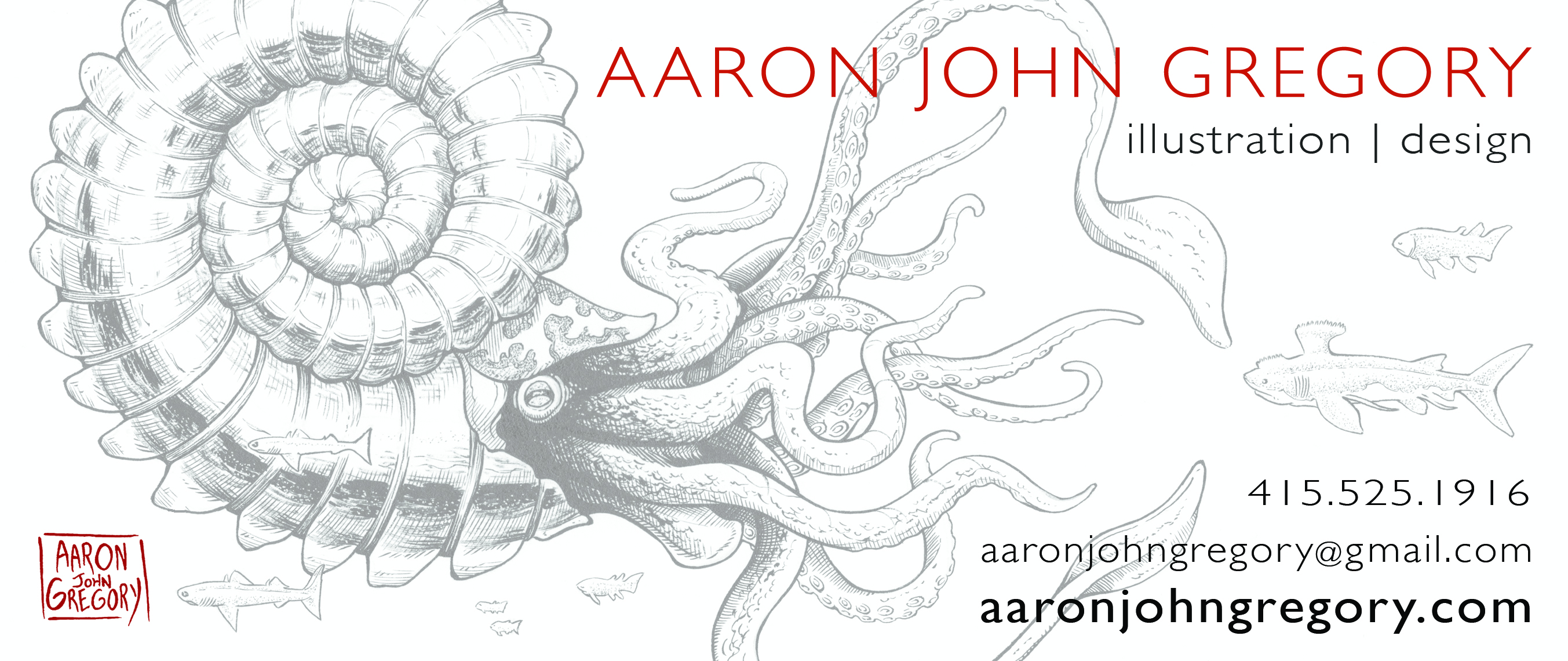 A.Gregory 2015 business card