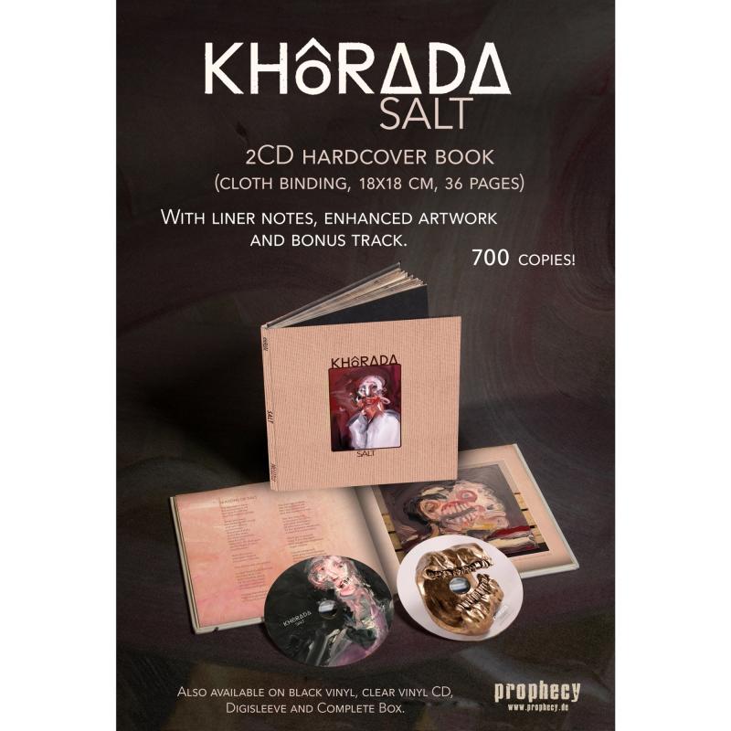 KHôRADA 2xCD Book