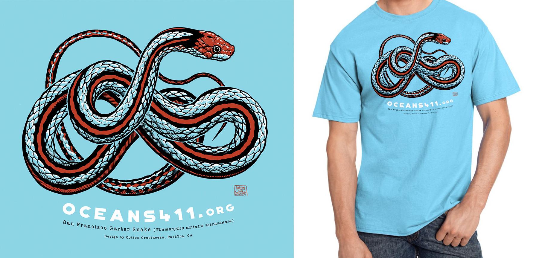Oceans411.org - San Francisco Garter Snake