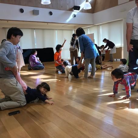 2018年11月17日神奈川県川崎市わたりだ保育園ジョイフルサタデー親子体操の出張指導いたしました。