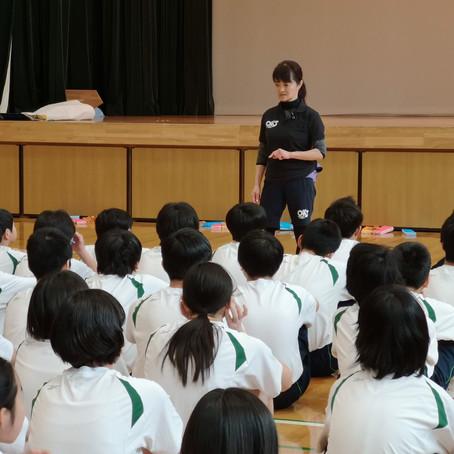 2019年1月9日千代田区立 神田一橋中学の体育の授業を担当させていただきました。