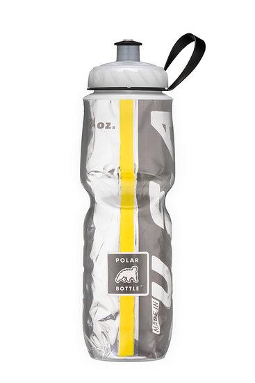 Garrafa Isotérmica - 710ml - Preto e Amarelo