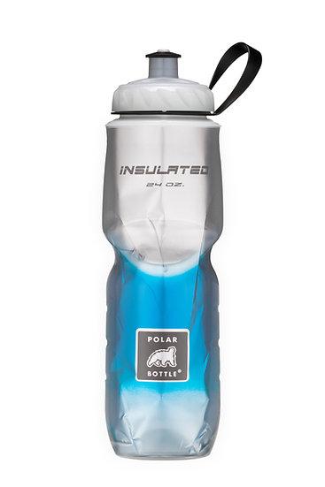 Garrafa Isotérmica 590 e 710ml - Fade Azul