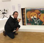 Philip at Pompidou Museum
