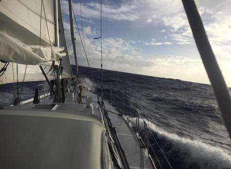 June 2017, Upwind to Hawaii