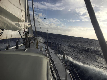 June 2017, Upwind to Hawaii