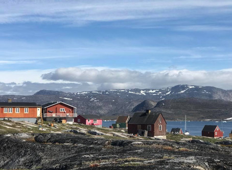 August 2018, Greenland - sailing to the North West Passage