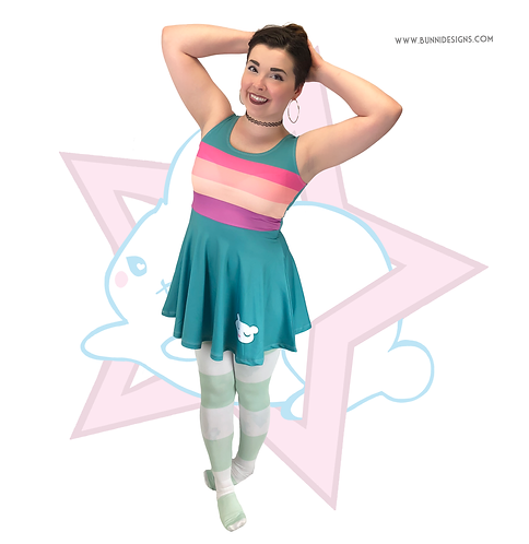 Star Butterfly Rainbow Bear Skater Dress Star Vs The