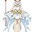 Thumbnail: SAKURA SNOW ANGEL | SLEEVELESS SKATER DRESS | CARDCAPTOR SAKURA CLEAR CARD