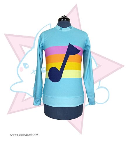 MABEL MUSIC NOTE | SWEATER | GRAVITY FALLS